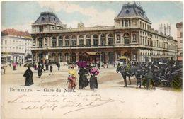 BRUXELLES - Gare Du Nord- Attelages   (101506) - Spoorwegen, Stations