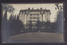 CPA PHOTO SUISSE - LAUSANNE - Maison Des Alex ? Westphal ? - TB PLAN Grande MAISON Façade IMMEUBLE - VD Vaud