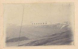 SAINT DENIS : Construction Du Saut De Mouton Du Landy. Quadruplement Voies Paris Soissons. Photo Originale - Trains