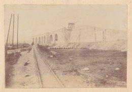 SAINT DENIS : Construction Du Saut De Mouton Du Landy, Côté Aubervilliers. Quadruplement Voies Paris Soissons. Photo - Trains