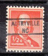 USA Precancel Vorausentwertung Preo, Locals North Carolina, Autryville 841 - Vereinigte Staaten