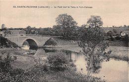 ¤¤   -   SAINTE-PAZANNE   -  Le Pont Sur Le Tenu à Port-Faissan    -   ¤¤ - Otros Municipios