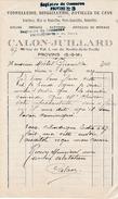 1925 - PROVINS (77) - TONNELLERIE, BOISSELLERIE, Articles De Cave - Maison CALON-JUILLARD - Historische Documenten