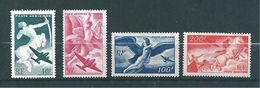 France PA De 1946/47  N°16 A 19   Neuf ** Sans  Charnière Cote 18 € - 1927-1959 Postfris