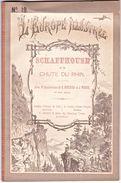 SCHAFFHOUSE ET LA CHUTE DU RHIN. 18 Gravures C.1880, Helvetica. L'Europe Illustrée. - Livres, BD, Revues