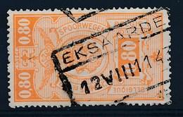 """BELGIE - TR 243 - Cachet  """"EKSAARDE"""" - (ref. 18.361) - Chemins De Fer"""