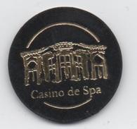 Petit Jeton (pas De Jeux, Mais De Publicité?) Casino De Spa Belgique : Diamètre 32mm - Casino