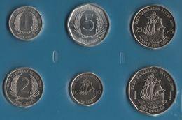 EAST CARAIBBEAN STATES COIN SET 6 MONNAIES 1 CENT - 1 DOLLAR 2004 - 2010 QEII - East Caribbean States
