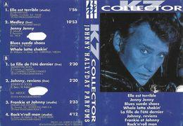 "Johnny Hallyday  ""  Parfums / K7 Collector  "" - Casetes"