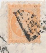 40c Orange Piquage SUSSE Sur Frgt B. - 1853-1860 Napoléon III