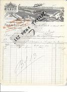 61 - Orne - FLERS-DE-L'ORNE - Facture FREMONT - Filature Et Tissage - 1908 - REF 84B - Francia