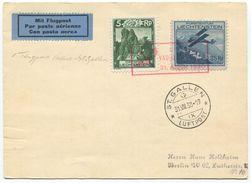 1743 - Erstflug VADUZ - ST. GALLEN 31. AUGUST 1930 - Poste Aérienne