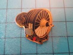 Pin510b Pin's Pins : Rare Et Belle Qualité : AVION AVIATION MOTEUR REACTEUR  , Marquage Au Dos : - ----- - - Airplanes