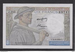France 10 Francs Mineur 30-6-1949 - Fayette N°8-22 - SPL - 1871-1952 Anciens Francs Circulés Au XXème