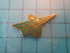 Pin510b Pin's Pins : Rare Et Belle Qualité : SNECMA SPORTS GENNEVILLIERS   , Marquage Au Dos : - ----- - - Airplanes