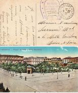 CP- TARENTE- T Et P 525-  Ligne D'Etapes De L'Armée D'Orient- - Postmark Collection (Covers)