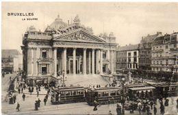BRUXELLES - La Bourse  - Tramways    (101516) - Non Classificati