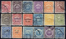 Nice Set Old Different Bolivie - Bolivia Used Stamps - Bolivie