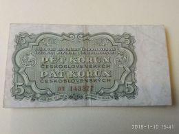 5 Korun 1953 - Cecoslovacchia