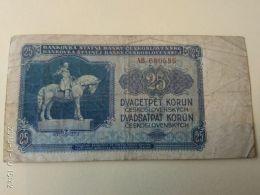 25 Korun 1953 - Tchécoslovaquie