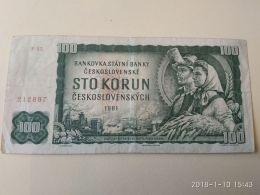 100 Korun 1961 - Tchécoslovaquie
