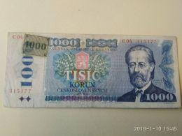1000 Korun 1985 - Tsjechoslowakije