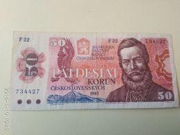 50 Korun 1987 - Tchécoslovaquie