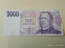 1000 Korun 1993 - Tchécoslovaquie