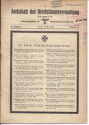 Dt- Reich (005171) Amtsblatt Der Reichfinanzverwaltung Ausgabe A Vom Mai 1942 - Magazines & Newspapers