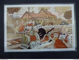 BELGIE SPOORWEG VIGNET BLOC 20   Xx (  COB ) COTE : 40 EURO ( G ) - 1952-....