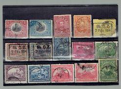 Nice Set Old Different Haiti Used Stamps - Haiti