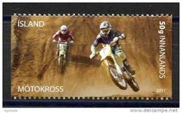 TIMBRE ISLAND  NOUVEAU VOITURE COURSE CROSS MOTOKROSS - Motos