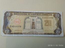 20  Pesos Oro 1988 - Repubblica Dominicana