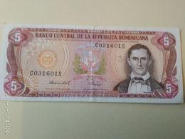 5  Pesos Oro 1995 - Dominicana