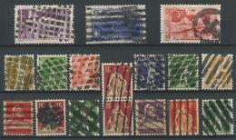1745 - ZOLLSTEMPEL - 17 Marken Auf Steckkarte - Poststempel
