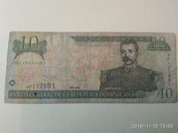 10  Pesos Oro 2000 - Dominicaine