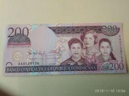 200 Pesos Oro 2007 - Repubblica Dominicana