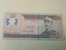 20 Pesos Oro 2009 - Repubblica Dominicana
