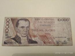10000 Sucres 1998 - Ecuador