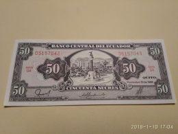 50 Sucres 1988 - Ecuador