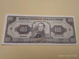 100 Sucres 1988 - Ecuador