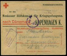 Deutsches Reich Kriegsgefangenersendung Nach Kopenhagen - Deutschland