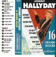 "Johnny Hallyday  ""  16 Grands Succès  "" - Audio Tapes"
