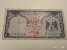 50 Piastres 1961 - Egitto