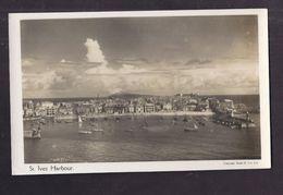 CPSM ANGLETERRE - St. IVES HARBOUR - TB PLAN D'ensemble De La Ville Côtière - 1949 - St.Ives