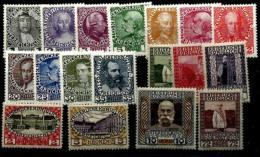 Austlria Nº  101/117 Y 118 Con Charnela - 1918-1945 1st Republic