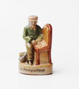 Fève Le Rempailleur Métiers Anciens - RG - Charms