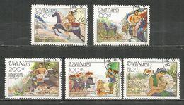 Vietnam 1989 , Used Stamps - Viêt-Nam