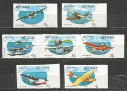 Vietnam 1987 , Used Stamps  Imperf. - Vietnam