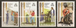 St Helena  1981  SG 385-8  Duke Of Edinburgh Award Scheme    Mounted Mint - Saint Helena Island